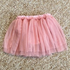 Taille by Eliane et Lena pink tulle skirt